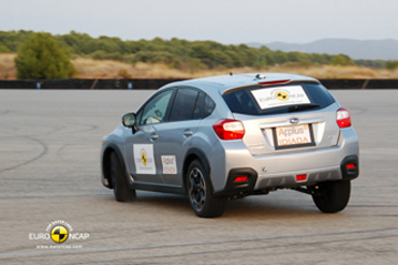 Official Subaru XV 2012 safety rating results