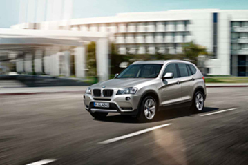 Official BMW X3 2011 safety rating results