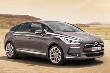 Official Citroën DS5 2011 safety rating results
