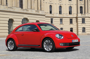 Official VW Beetle 2011 safety rating results