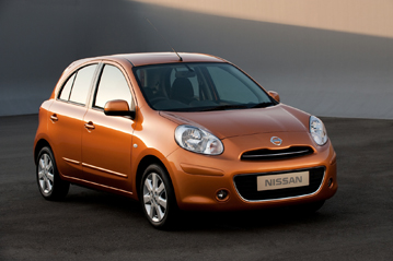 Official Nissan Micra 2010 safety rating results