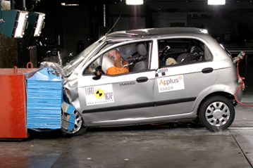 Official Chevrolet Matiz 2005 Safety Rating