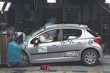 Official Peugeot 207 2006 Safety Rating