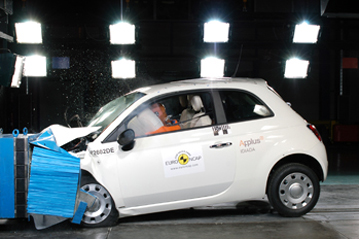 Official Fiat 500 2007 safety rating