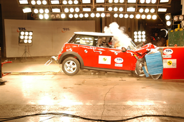 Official Mini Cooper 2007 Safety Rating