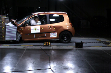 Official Renault Twingo 2007 Safety Rating