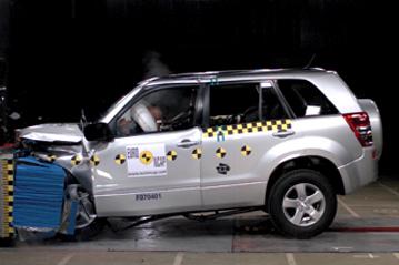 Official Suzuki Grand Vitara 2007 safety rating
