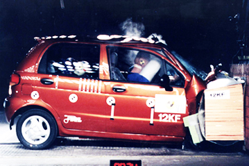 Official Daewoo Matiz 2000 Safety Rating