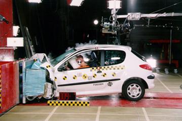 Peugeot bast i krocktest
