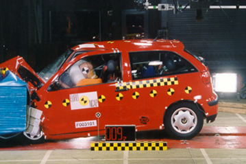 Official Seat Ibiza 2000 safety rating