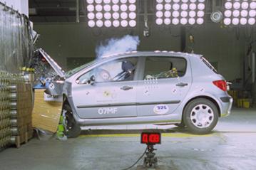 offizielle sicherheitsbewertung peugeot 307 2001
